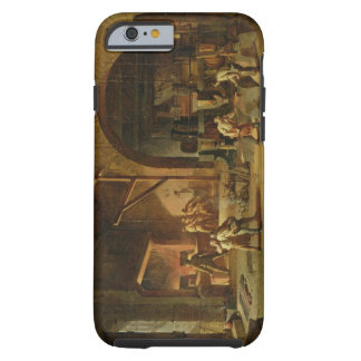 Interior of an Ironworks, 1850 (oil on canvas) Tough iPhone 6 Case