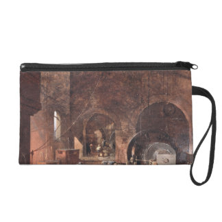 Interior of an Ironworks, c.1850-60 (oil on canvas Wristlet Purses
