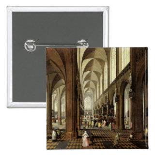 Interior of Antwerp Cathedral, c.1650 Button