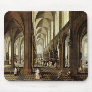 Interior of Antwerp Cathedral, c.1650 Mouse Pad