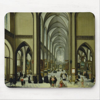 Interior of Antwerp cathedral Mouse Pad