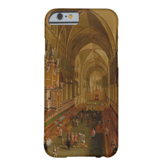 Interior of Canterbury Cathedral, c.1675-1700 (oil Barely There iPhone 6 Case