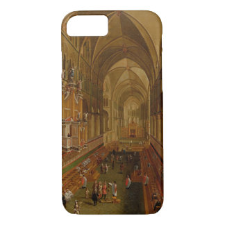 Interior of Canterbury Cathedral, c.1675-1700 (oil iPhone 8/7 Case