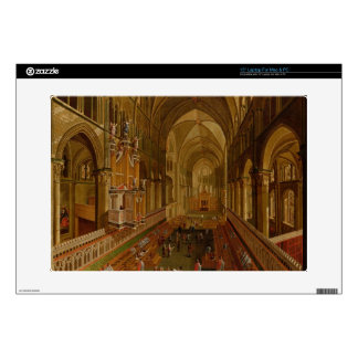 Interior of Canterbury Cathedral, c.1675-1700 (oil Laptop Skins