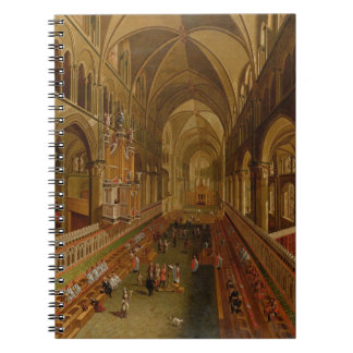 Interior of Canterbury Cathedral, c.1675-1700 (oil Spiral Notebook