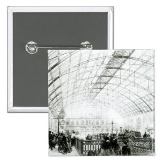 Interior of Charing Cross station Pinback Button