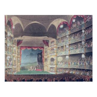 Interior of Drury Lane Theatre, 1808 Postcard
