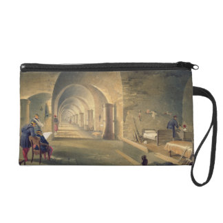 Interior of Fort Nicholas, plate from 'The Seat of Wristlet Purse