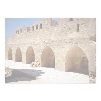 Interior of Fort of Qaitbay, Alexandria, Egypt Invitations