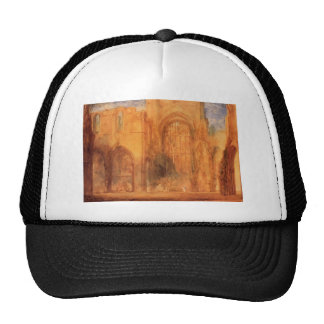 Interior of Fountains Abbey by William Turner Hats