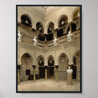 Interior of governor's palace, Algiers, Algeria vi Poster
