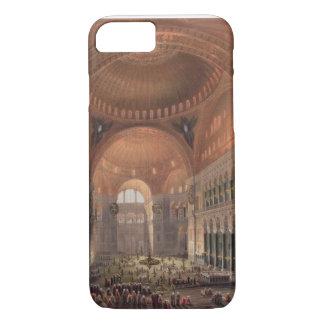 Interior of Haghia Sophia, Constantinople, pub. 18 iPhone 7 Case