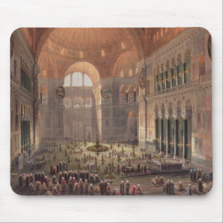 Interior of Haghia Sophia, Constantinople, pub. 18 Mouse Pad