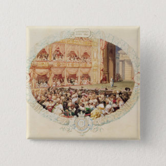 Interior of Her Majesty's Theatre, close of the se Pinback Button