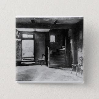 Interior of Johann Sebastian Bach's  house Pinback Button