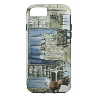 Interior of Kelmscott Manor (w/c on paper) iPhone 8/7 Case