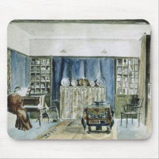 Interior of Kelmscott Manor (w/c on paper) Mouse Pad