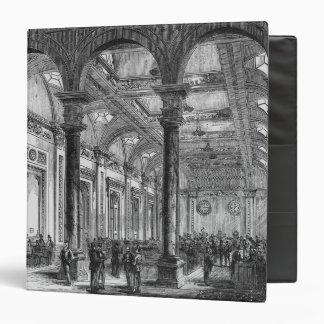 Interior of Lloyd's of London Binder