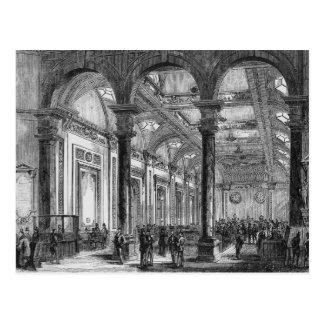 Interior of Lloyd's of London Postcard