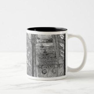 Interior of Lloyd's of London Two-Tone Coffee Mug