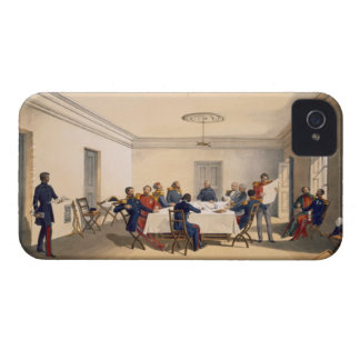 Interior of Lord Raglan's Head Quarters, plate fro iPhone 4 Case