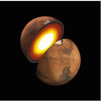 Interior of Mars Space NASA Statuette