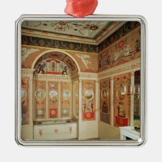 Interior of Napoleon's bathroom, built in 1807 Christmas Tree Ornaments