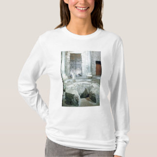 Interior of octagonal baptistery of  cathedral T-Shirt