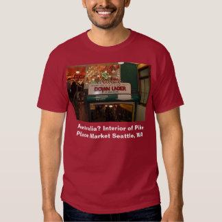 Interior of Pike Place Market Seattle, WA T Shirts