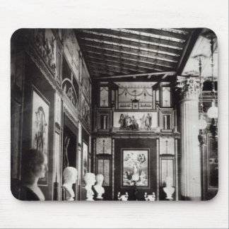 Interior of Prince Napoleon's Palais Pompeian Mouse Pad
