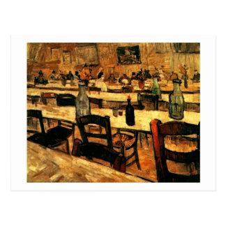 Interior of Restaurant in Arles, Vincent van Gogh Postcard