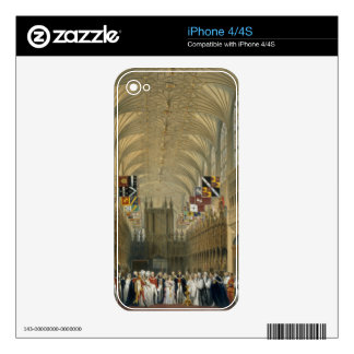 Interior of St George's Chapel, 1838 (colour litho iPhone 4S Decal