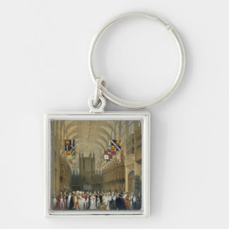 Interior of St George's Chapel, 1838 (colour litho Keychains