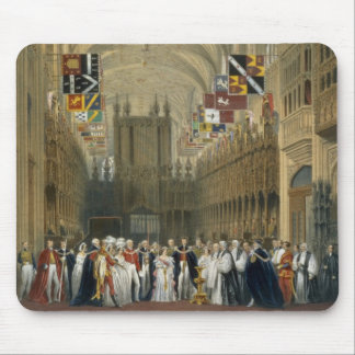 Interior of St George's Chapel, 1838 (colour litho Mouse Pad