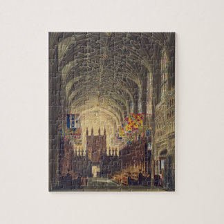 Interior of St. George's Chapel, Windsor Castle, f Jigsaw Puzzle