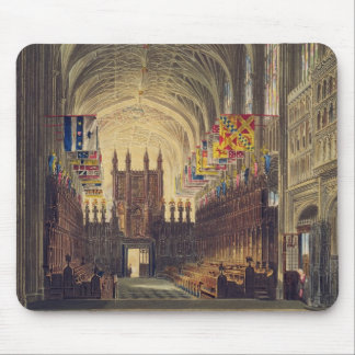Interior of St. George's Chapel, Windsor Castle, f Mouse Pad