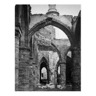 Interior of St Mathieu France 1856 Post Card