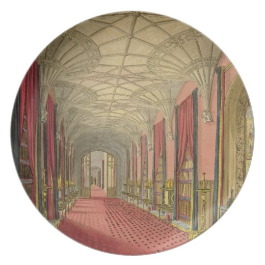Interior of St. Michael's Gallery, from 'Graphic a Dinner Plate
