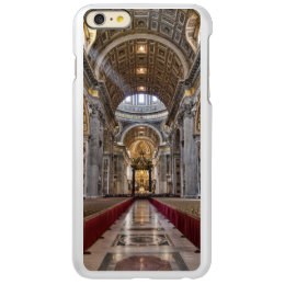 Interior of St. Peter's Basilica Incipio Feather Shine iPhone 6 Plus Case
