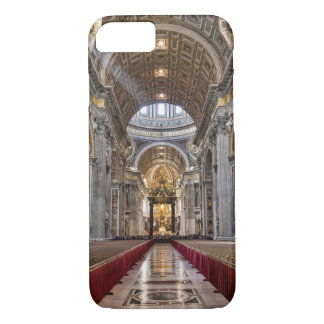 Interior of St. Peter's Basilica iPhone 7 Case
