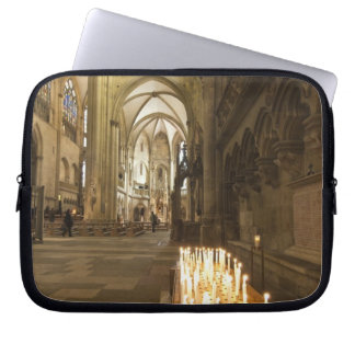 Interior of St. Peter's Cathedral in Regensburg Laptop Sleeve