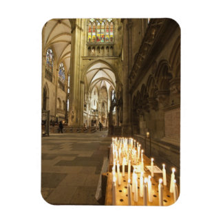 Interior of St. Peter's Cathedral in Regensburg Rectangular Photo Magnet
