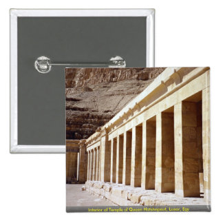 Interior of Temple of Queen Hatshepsut, Luxor, Egy Pins