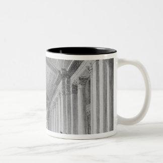 Interior of the Advocate's Library, Edinburgh Two-Tone Coffee Mug