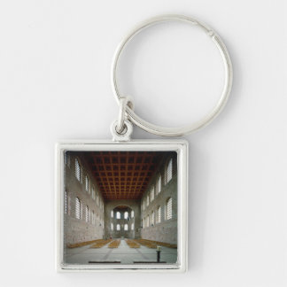 Interior of the basilica, early 4th century AD Keychain