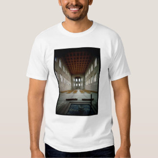 Interior of the basilica, early 4th century AD Tee Shirts