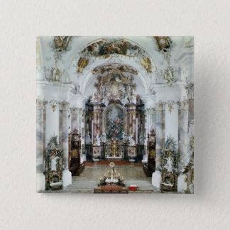 Interior of the benedictine abbey church button