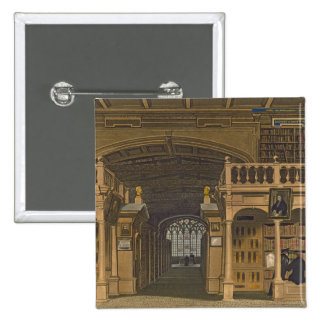 Interior of the Bodleian Library, illustration fro Button