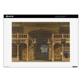 "Interior of the Bodleian Library, illustration fro Decal For 15"" Laptop"