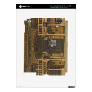 Interior of the Bodleian Library, illustration fro Decals For iPad 3